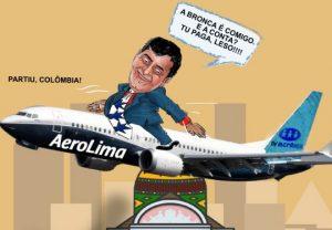 Companhia Aerolima é assim que está sendo chamado o governador do Amazonas
