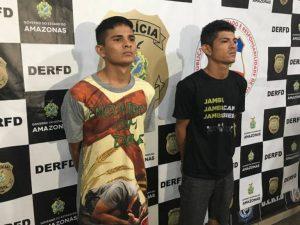Homens são presos por tentativa de latrocínio, em Manaus