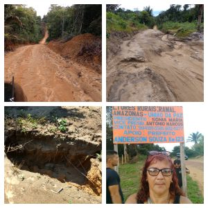 DENÚNCIA: Moradores do Ramal Amazonas, em Rio Preto da Eva reclamam de infraesturas e esquecimento por parte das autoridades