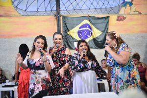 """James Rios e Cláudia Trindade fazem participação no lançamento do CD """"Elas Cantam Samba – Rodas com Elas"""""""