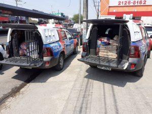 Homem é detido após ser flagrado vendendo frangos estragados na Feira do São José, em Manaus