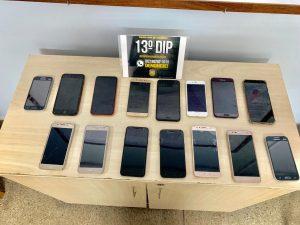 Polícia Civil recupera 15 aparelhos celulares subtraídos na zona Norte da capital