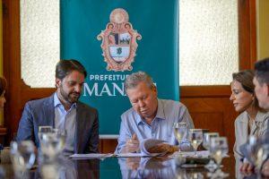 Empresa investigada na Maus Caminhos tem contrato com a prefeitura de Manaus
