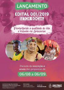 Fundo de Promoção Social do AM lança edital para seleção de projetos
