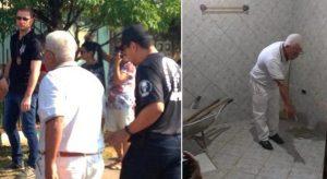 Depois de 25 anos, idoso confessa que enterrou mulher no banheiro