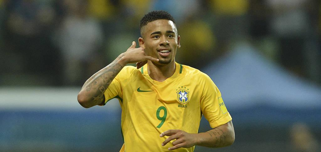 Conmebol suspende Gabriel Jesus de jogos da Seleção