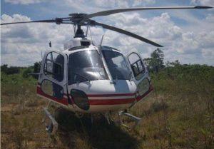 Helicóptero da SSP faz pouso forçado, em Manaus