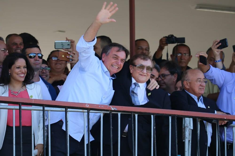 Bolsonaro tem 1º encontro com governador do Nordeste após fala polêmica sobre 'paraíba'