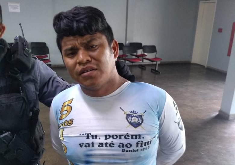 Homem é preso suspeito de assassinar mulher em quarto de 'hotel', no Centro de Manaus