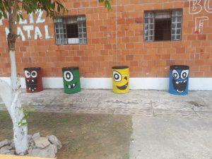 Moradores do Prosamim de Manaus retomam projeto Leitura na Praça após mutirão de revitalização 3