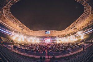 Jota Quest estreia show drive-in em São Paulo. Confira detalhes