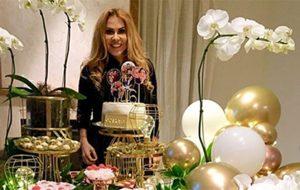Joelma comemora seus 46 anos ao lado de amigos e familiares