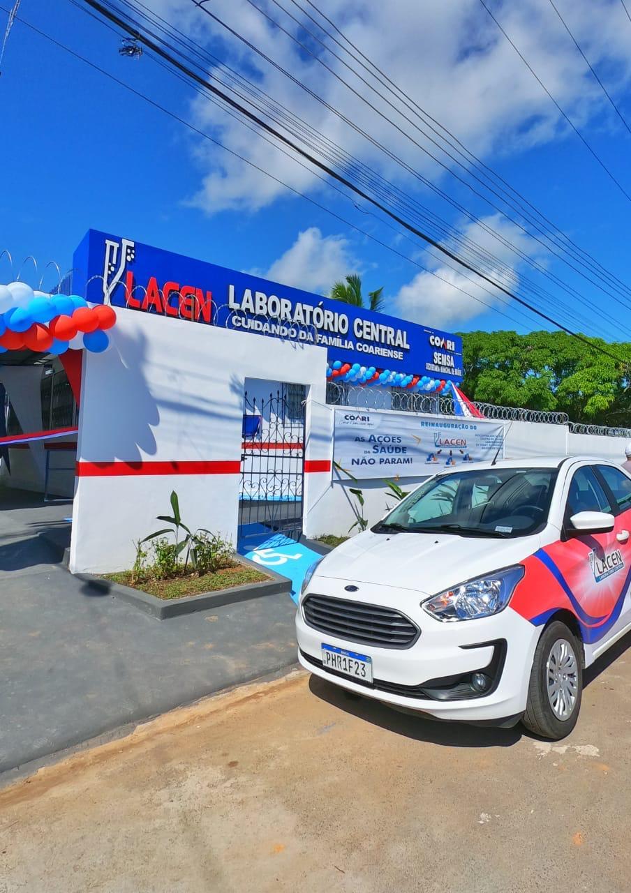 Prefeito Adail Filho reinaugura Laboratório Central de Coari
