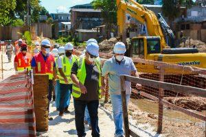 Obras do Prosamim recebem inspeção do Banco Interamericano de Desenvolvimento