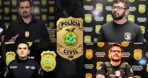 Após 'prejuízo' traficantes ameaçam de morte delegados da Polícia Civil e policias da Rocam em Manaus