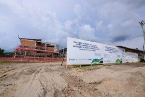 Governo do Amazonas prossegue com construção de Ceti e obras de infraestrutura em Fonte Boa