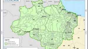 Amazônia Legal ocupa 58% do território brasileiro, aponta mapa atualizado pelo IBGE