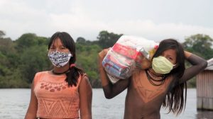 Doações da campanha mundial liderada por Greta Thunberg desembarcam na Amazônia