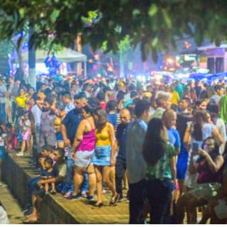 Amazonas  Ele quer saber de festa, prefeito de Manacapuru agenda festa de aniversário da cidade para esta quarta