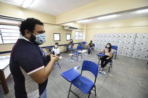 Pesquisa aponta que 97,14% dos professores da capital aprovam volta às aulas no regime híbrido