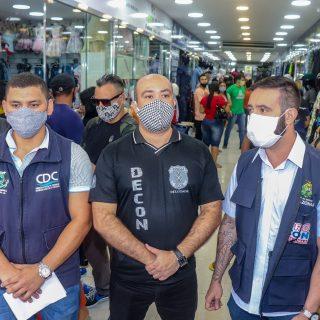 Polícia Civil deflagra operação 'Fraude no Comércio' em lojas  do Centro de Manaus