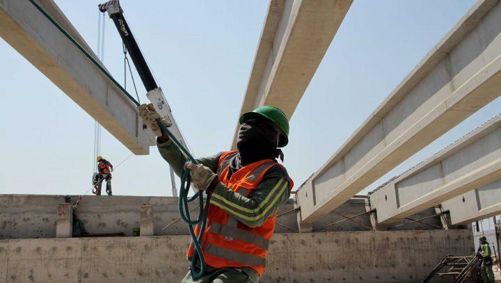 Obras do complexo viário do Manôa ultrapassam 70% de conclusão e nova etapa de construção é iniciada.