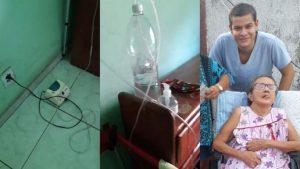 """Enfermeiro de Manaus improvisa oxigênio com garrafa pet, mas idosa morre: """"Culpado vai pagar"""""""