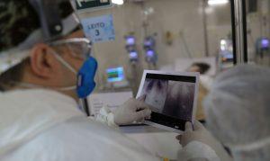 Brasil registra 1.283 mortes por covid-19 em 24 horas
