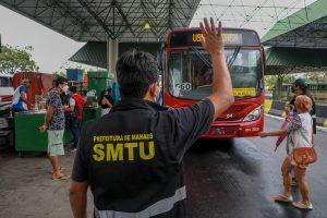 Prefeitura garante 100% da frota de ônibus em circulação e aumenta número de carros reserva nos terminais