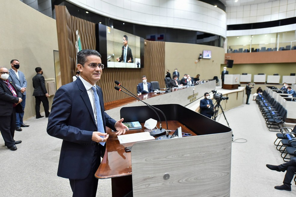 Câmara Municipal de Manaus abre ano legislativo com mensagem de David Almeida