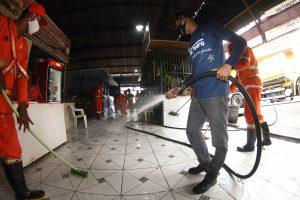 Prefeitura de Manaus já realizou sanitização em mais de 150 áreas