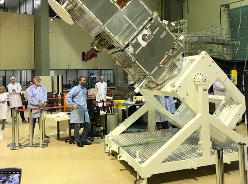 Produzido no Brasil, satélite Amazonia-1 entrará em órbita em 28 de fevereiro