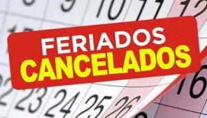 Todos os feriados são cancelados pela Prefeitura de Manaus