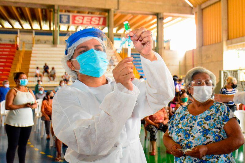 Manaus registra novo recorde de vacinação e coloca o Amazonas na liderança nacional de imunização