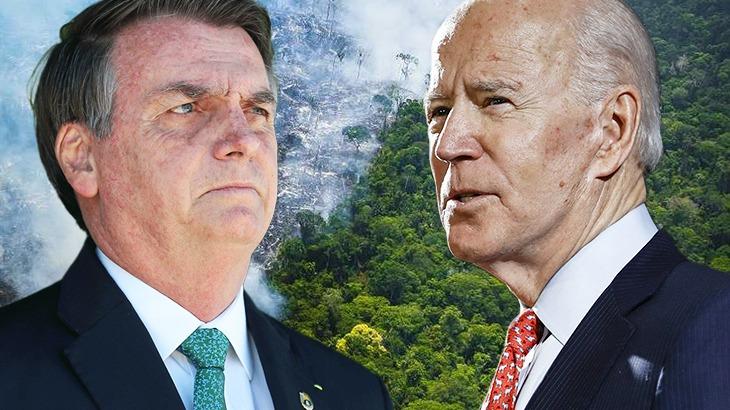 Amazônia pode ser pauta tensa no primeiro encontro entre Bolsonaro e Biden