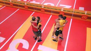 BBB21: Arthur e Projota são última dupla a deixar a Prova do Líder McDonald's