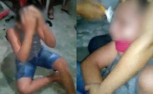 Mãe é indiciada por tortura após filmar agressões contra filho de 14 anos; jovem teve cabelos raspados