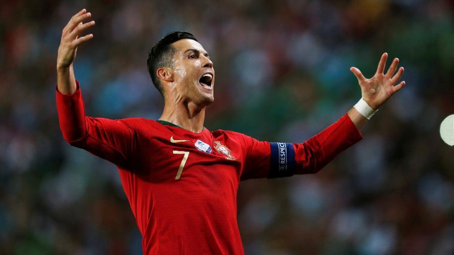 CR36: seleção de Portugal homenageia Cristiano Ronaldo em aniversário