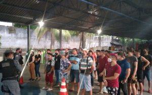25 pessoas são detidas por abrirem lojas na Zona Leste de Manaus