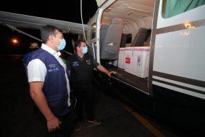 76 mil doses de vacina que tinham sido enviadas por engano ao Amapá chegam ao Amazonas