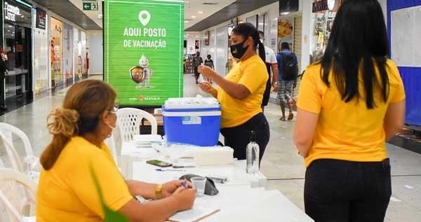 Prefeitura terá dois postos de vacinação abertos nesse domingo