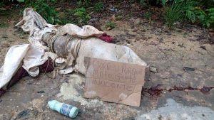 Corpo é encontrado sem cabeça e com bilhete, em ramal do Jorge Teixeira
