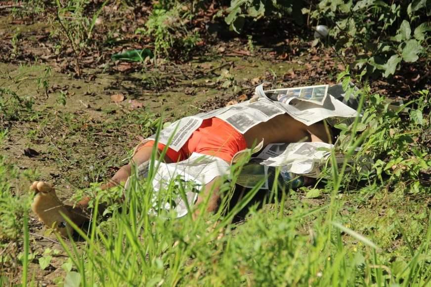 Homem é encontrado morto no Distrito Industrial