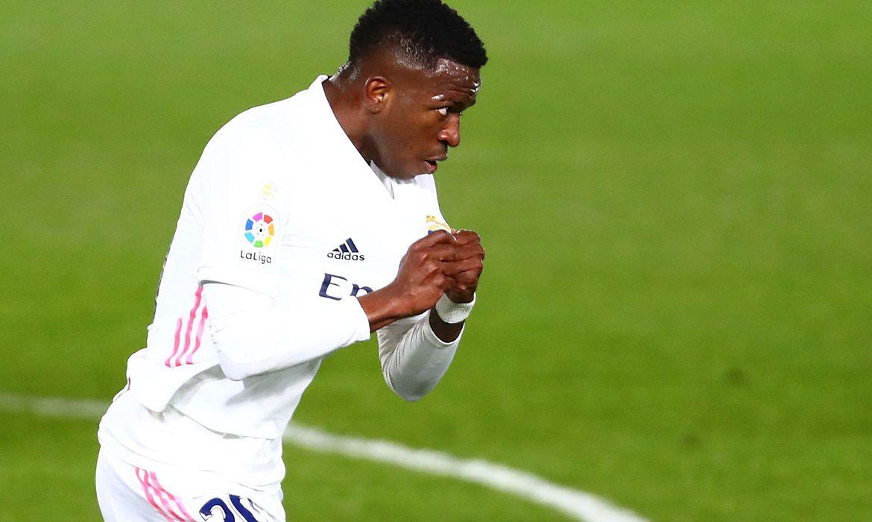 Real Madrid empata no Espanhol graças a gol de Vinícius Júnior