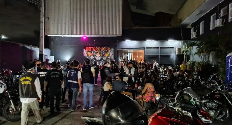 Em Manaus, 26 bares são fechados por ultrapassar horário de funcionamento e superlotação