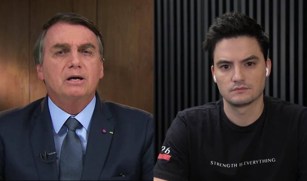 Liminar suspende investigação contra Felipe Neto por acusações contra Bolsonaro