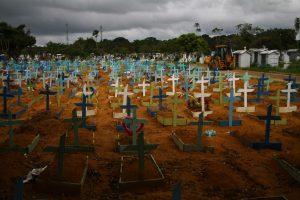 Amazonas atinge triste marca de 12 mil mortes por Covid