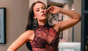 Casa de Paolla Oliveira pega fogo e atriz fala do susto