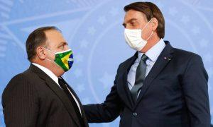 Bolsonaro cogita criar ministério para Pazuello