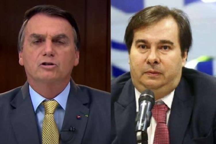 'Patrocinando a morte de milhares de brasileiros', diz Maia sobre Bolsonaro